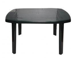 Πλαστικό Τραπέζι Ορθογώνιο OEM 0126 125x80x71εκ - Πράσινο