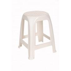 Πλαστικό Σκαμπώ Δεμένο OEM 0240 37x37x47ύψος - Λευκό