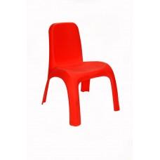 Πλαστικό Καρεκλάκι Παιδικό Ματ OEM 0188 43x 37xΥ52,5εκ - Κόκκινο