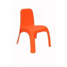 Πλαστικό Καρεκλάκι Παιδικό Ματ OEM 0188 43x 37xΥ52,5εκ - Πορτοκαλί