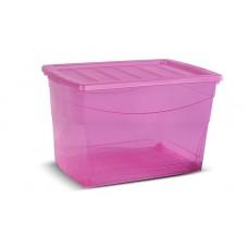 Κουτί Αποθήκευσης Omnibox Κis 60lt με Καπάκι.