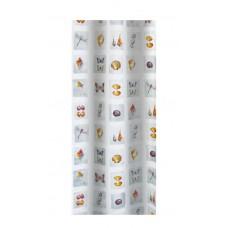 Κουρτίνα Υφασμάτινη Happy Bath 180x180 ZJ-2468