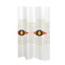 Κουρτίνα Υφασμάτινη Happy Bath 180x200 JAZZROCK/ORANGE