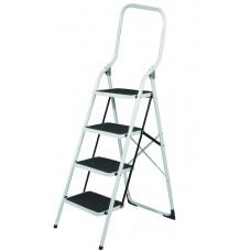Σκάλα Σκαμνί Με 4 Αντιολισθητικά Σκαλοπάτια Και Μπάρα Ασφαλείας OEM 12429