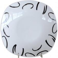 Πιάτο Πορσελάνης Ρηχό Τετράγωνο 308-105 OEM 25x25εκ