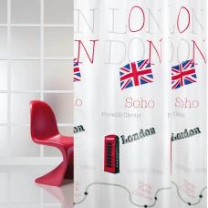Κουρτίνα Υφασμάτινη Happy Bath 180x200
