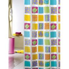 Κουρτίνα Υφασμάτινη Happy Bath 180x180