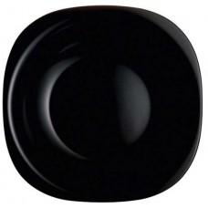 Πιάτο Ρηχό Μαύρο Τετράγωνο Carine Luminarc 26x26εκ.