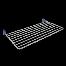 Απλώστρα Τοίχου Πτυσσόμενη Solano Metaltex