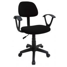 Καρέκλα Γραφείου Μαύρη 745104 OEM 52πλx52βαθx90υψ.
