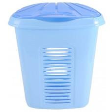 Καλάθι Απλύτων Πλαστικό OEM 0267 45x34xΥ51 - 50lt. - Σιέλ