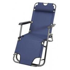 Καρέκλα-Ξαπλώστρα Μεταλλική Παραλίας 153x60x79 OEM 03.CH-103