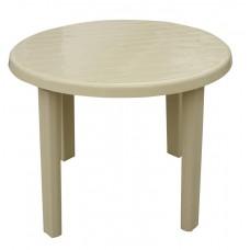 Πλαστικό Στρογγυλό Τραπέζι 90εκ. OEM 0121 88x88x72υψ