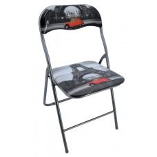 Καρέκλα Μεταλλική Πτυσσόμενη 745838 OEM 44πλx40βαθx79υψ