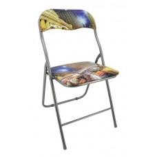 Καρέκλα Μεταλλική Πτυσσόμενη 745821 OEM 44πλx40βαθx79υψ