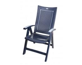 Πολυθρόνα Πλαστική 5 Εναλλασσόμενων Θέσεων Florence OEM 151175