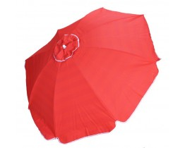 Ομπρέλλα Θαλάσσης Βαμβακερή 2μ. Κόκκινη 735525 OEM