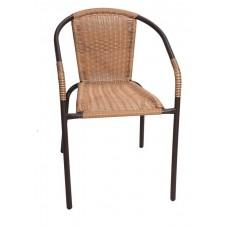Καρέκλα Rattan Καφέ 744930 OEM 53x56x76υψ