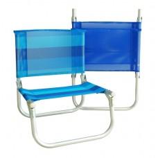 Καρεκλάκι Παραλίας Αλουμινίου Μικρό 735686 OEM 43x45x52υψ ύψος καθίσματος 22εκ.