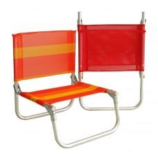 Καρεκλάκι Παραλίας Αλουμινίου Μικρό 735693 OEM 43x45x52υψ ύψος καθίσματος 22εκ.