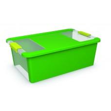 Κουτί Αποθήκευσης με Καπάκι Bi-Box M 26lt. Πράσινο 55x35x19υψος