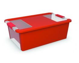 Κουτί Αποθήκευσης με Καπάκι Bi-Box M 26lt. Κόκκινο 55x35x19υψος