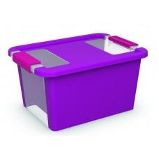 Κουτί Αποθήκευσης με Καπάκι Bi-Box S 11lt. Μωβ 36,5x26x19υψος