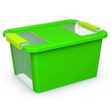 Κουτί Αποθήκευσης με Καπάκι Bi-Box S 11lt. Πράσινο 36,5x26x19υψος