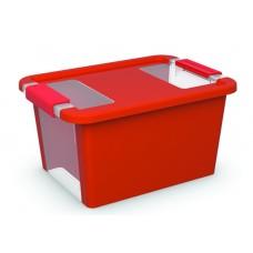 Κουτί Αποθήκευσης με Καπάκι Bi-Box S 11lt. Κόκκινο 36,5x26x19υψος