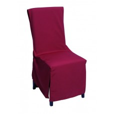 Κάλυμμα Καρέκλας Mistral Home - Μπορντώ 100εκ. πλάτη - 45x45x45υψ Κάθισμα