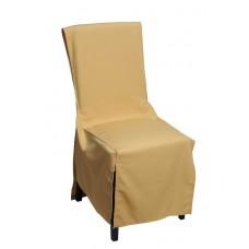 Κάλυμμα Καρέκλας Mistral Home - Ώχρα 100εκ. πλάτη - 45x45x45υψ Κάθισμα