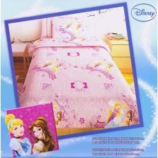Σετ Σεντόνια Μονά Παιδικά PRINCESS PINK 155x260εκ OEM