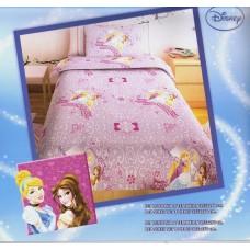Σεντόνι Παιδικό Με Μαξιλαροθήκη PRINCESS PURPLE 165x260εκ OEM