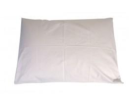 Μαξιλαροθήκη 100% Βαμβακερη Περκάλι Λευκή 50x70εκ OEM