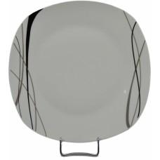 Πιάτο Πορσελάνης Ρηχό 25εκ. Τετράγωνο 1210-105 OEM 25x25εκ