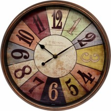Ρολόι Τοίχου Πλαστικό Στρογγυλό 751112 OEM