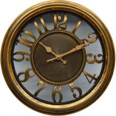 Ρολόι Τοίχου Πλαστικό Στρογγυλό 751136 - OEM - (28714234)