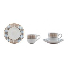 Φλυτζάνια Καφέ 6 Τεμαχίων ΙΩΝΙΑ PICNIC 8,5x6x5,5υψ