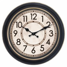Ρολόι Τοίχου Πλαστικό Αντικέ 751174 OEM