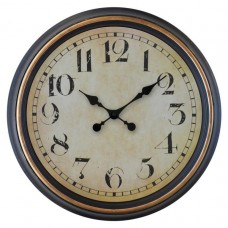 Ρολόι Τοίχου Πλαστικό Αντικέ 751228 OEM