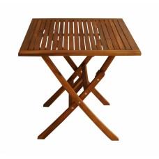 Τραπέζι Ξύλινο Τετράγωνο 70x70εκ 687503 OEM