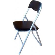 Καρέκλα Μεταλλική Πτυσσόμενη Μαύρη 44x45x80 OEM 745807