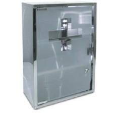 Inox Κουτί Πρώτων Βοηθειών DIAN K006.A Με Περιεχόμενο 50x30x11cm OEM