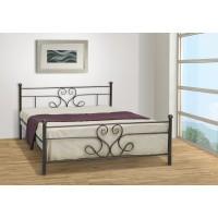 Κρεβάτι Μεταλλικό Ορίων Μονό Για Στρώμα 90x190εκ