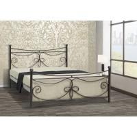Κρεβάτι Μεταλλικό Μύκονος Διπλό Για Στρώμα 140x190εκ