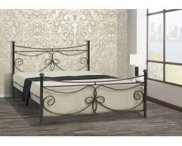 Κρεβάτι Μεταλλικό Μύκονος Υπέρδιπλο Για Στρώμα 160x200εκ