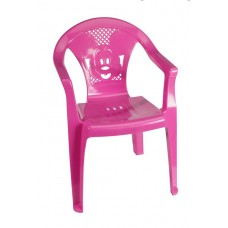 Παιδικό Καρεκλάκι Πλαστικό Πλούτωνας OEM 0060 36x34xΥ53εκ - Ροζ
