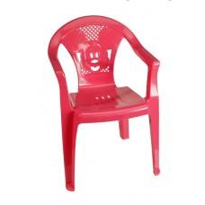 Παιδικό Καρεκλάκι Πλαστικό Πλούτωνας OEM 0060 36x34xΥ53εκ - Κόκκινο