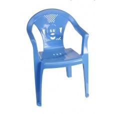 Παιδικό Καρεκλάκι Πλαστικό Πλούτωνας OEM 0060 36x34xΥ53εκ - Μπλέ