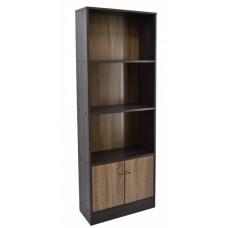 Βιβλιοθήκη Με 2 Ράφια Και Ντουλάπι 765690 OEM